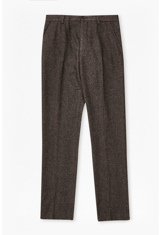 French Connection (FCUK) Washed Herringbone Tweed Trousers