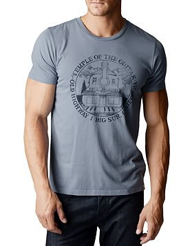 True Religion temple of guitar mens t-shirt