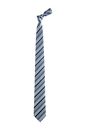 Hugo Boss Tie 7.5 cm' | Regular, Silk Diagonal Stripe Tie , Turquoise
