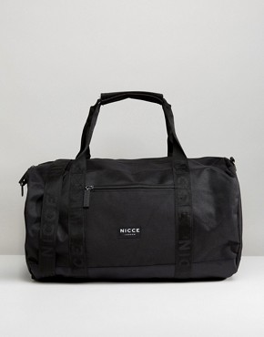 Nicce London Carryall In Black