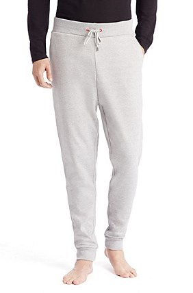 Hugo Boss Dooney-US' | Cotton Sweatpants, Open Grey