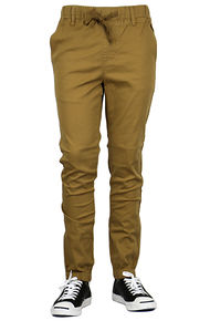 MEN'S SLIM FIT TWILL JOGGER PANTS