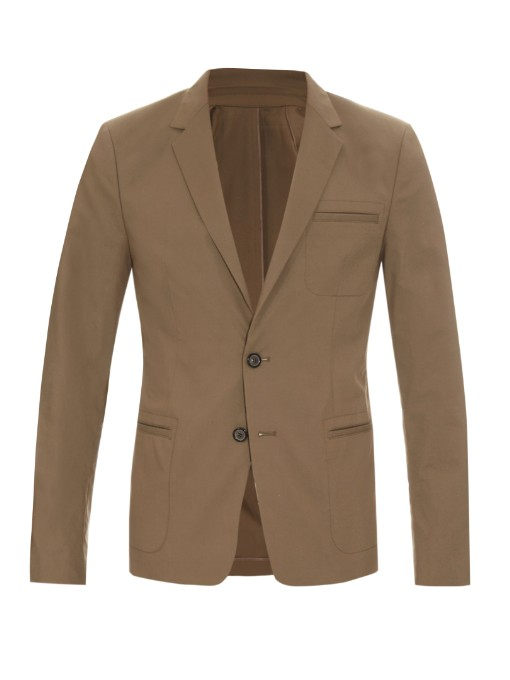 Matches Fashion Wooyoungmi Notch-lapel single-breasted blazer
