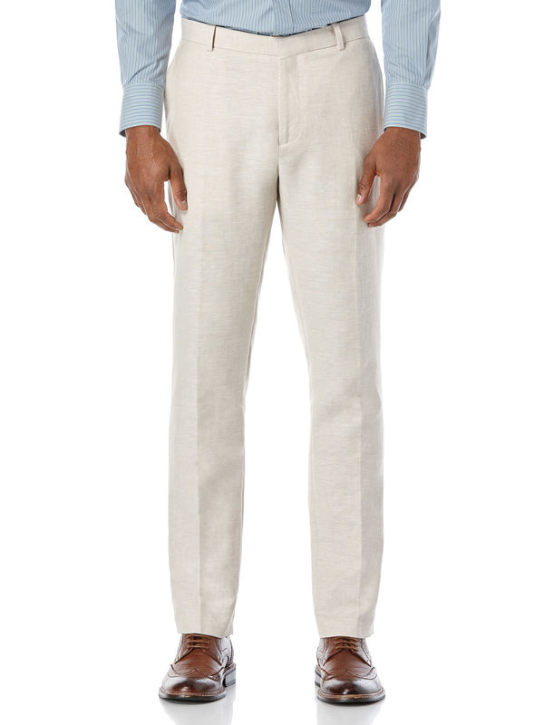 Perry Ellis Very Slim Linen Suit Pant